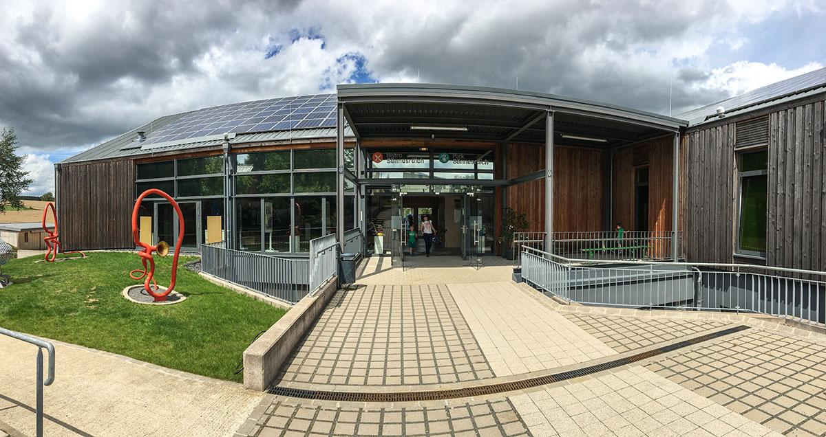 Park Sennesraich in Lullange