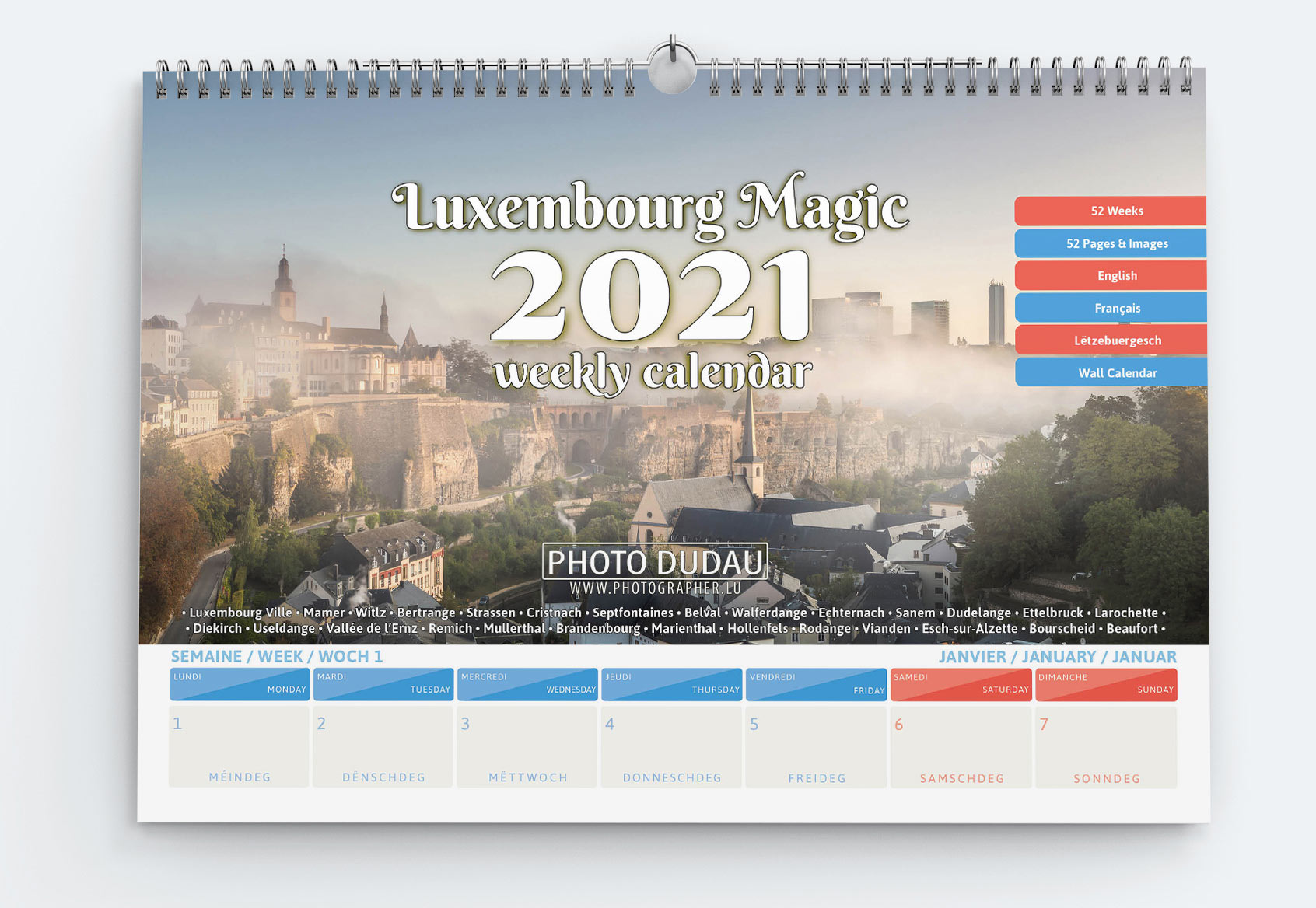 luxembourg calendar